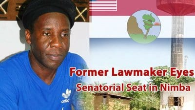 Former Lawmaker Eyes Senatorial Seat in Nimba