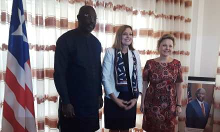 US Assistant Secretary of State For Educational and Cultural Affairs Meets President Weah