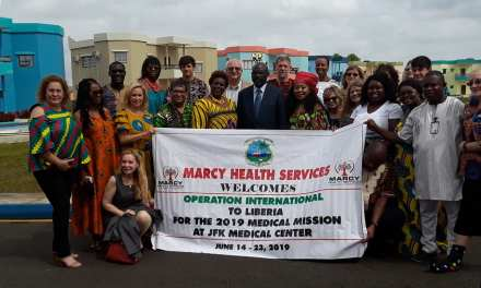 Marcy Health Services Ends  Health  Mission To Liberia,Conducts 102 Free Surgeries To Liberians