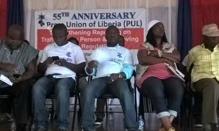 AT PUL 55th Anniversary In Gbarnga, Deputy Speaker Calls For Readjustment In The Sector, Calls On The PUL To Take Action
