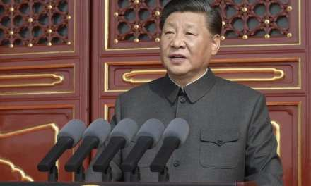 """"""" No Force Can Stop China From Marching On"""" President Xi Declares As China Marks 70 years Communist Leadership"""