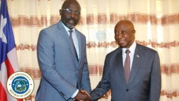 Former VP Boakai Throws Jabs At President George Weah