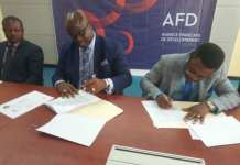 MYS, MERCY CORPS AND AFD signing ceremoney