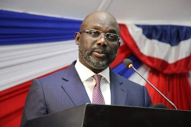 George M. Weah, President of Liberia
