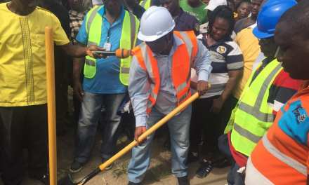 Senator Saah Joseph Breaks Ground For A 1m Mini College In District Thirteen Montserrado County