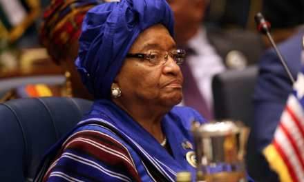 Former President Sirleaf Reacts Sharply to the Lighting of National Christmas Tree