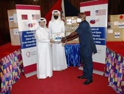 State of Qatar Donates COVID-19  Medical Equipment and Supplies to Liberia