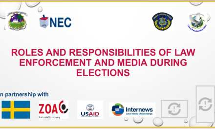 NEC Ends Two Days Training for Media, Law Enforcers