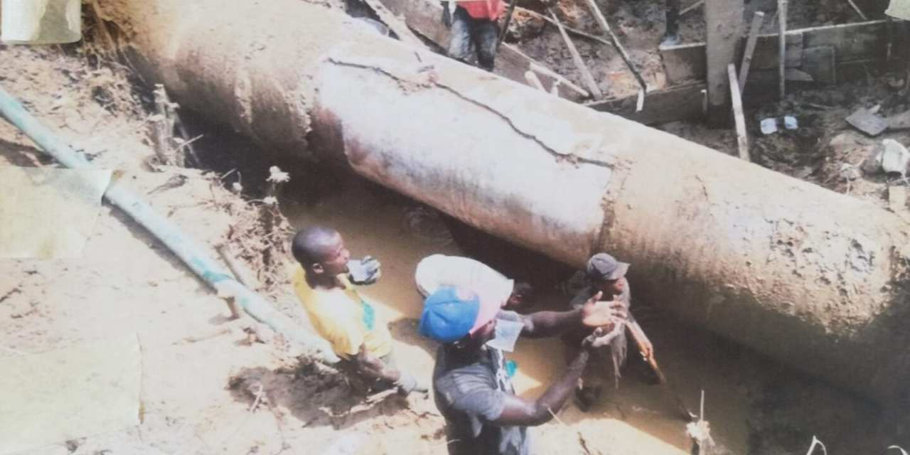 LWSC Returns Water Distribution in Monrovia Friday