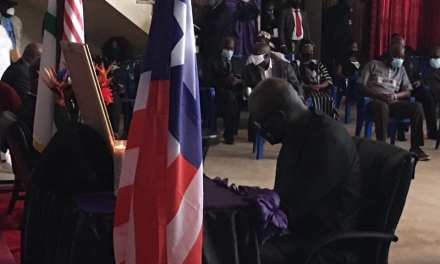 President Weah, Others Sign Book of Condolence for  Rep. J. Nagbe Sloh