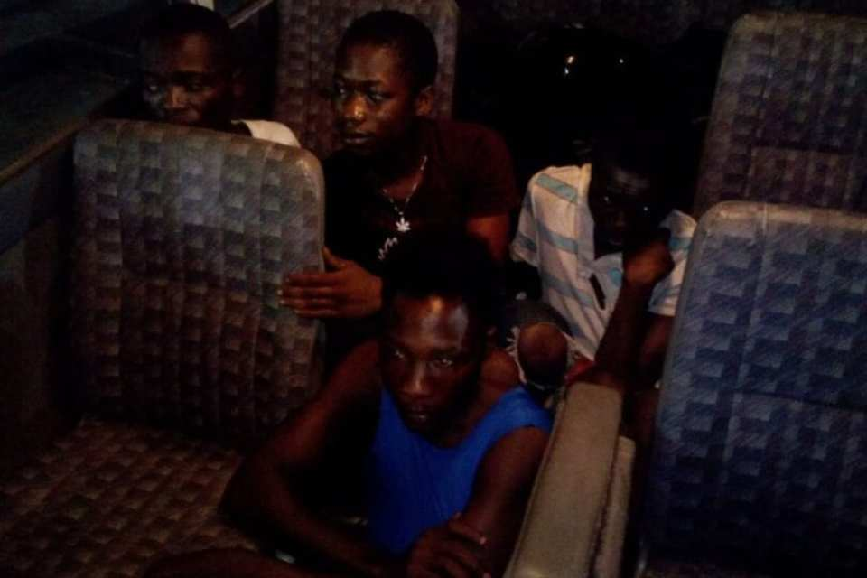 Several Alleged Notorious Robbers Arrested
