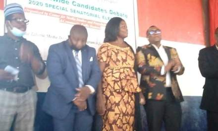 Center for Media Studies and Peace Building Concludes Senatorial Debate in Grand Bassa County