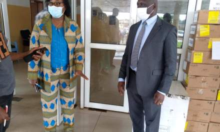 WHO Provides Medical Supplies to Health Ministry