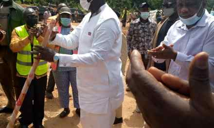 President Weah Breaks Ground for Mini Hydro Power Plant