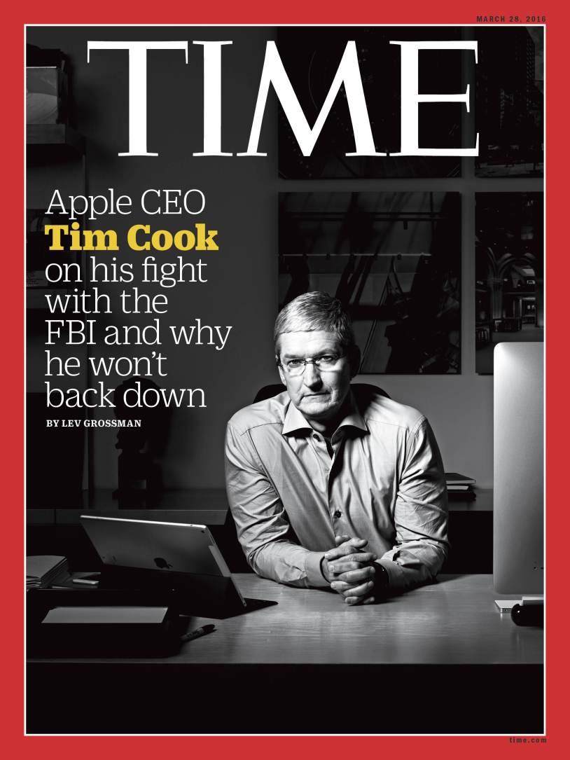 FBI 수사의 해독 문제에 대해 Tim Cook CEO 인터뷰 전문 게재.