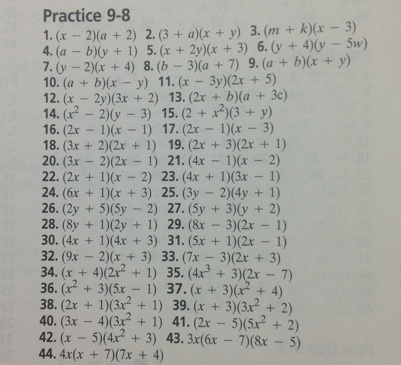 Algebra Worksheet New 99 Algebra 2 Worksheet Answers
