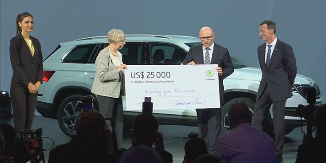 Nonprofits Receive Skoda Car Company Donation
