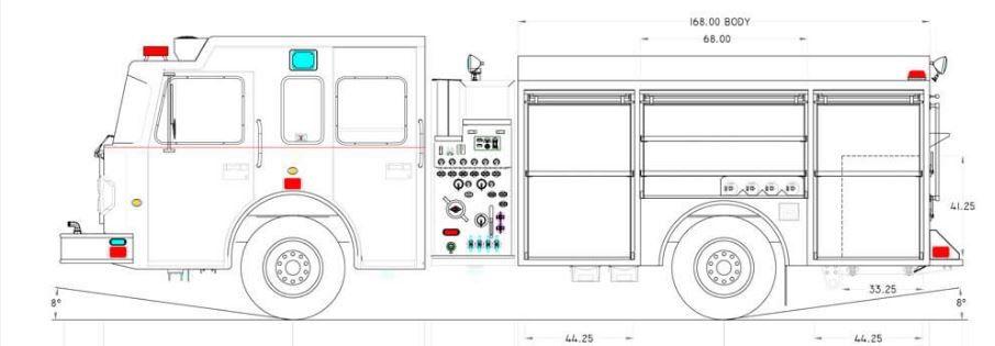 assembly ok's new engine and tanker for bayside fire fire truck placement fire truck schematic #12