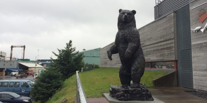 A New Bronze Bear Statue is Unveiled
