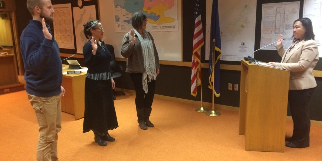 Winners of the 2017 Kodiak Island Borough Assembly Election are Sworn In