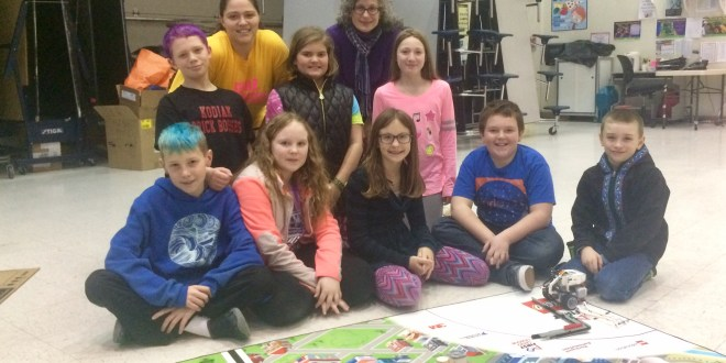 Elementary robotics club heads to state championship