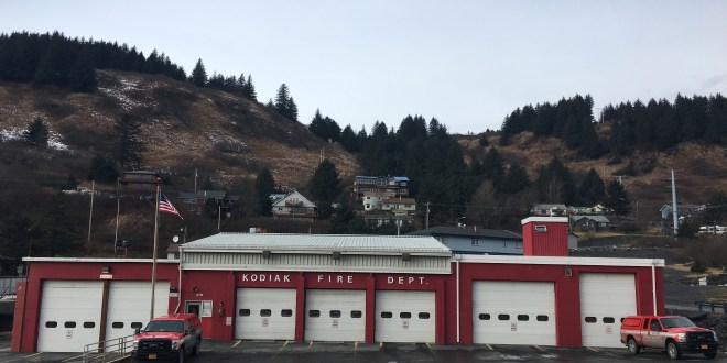 A recent earthquake leaves Kodiak's fire station damaged, but energizes efforts to replace it