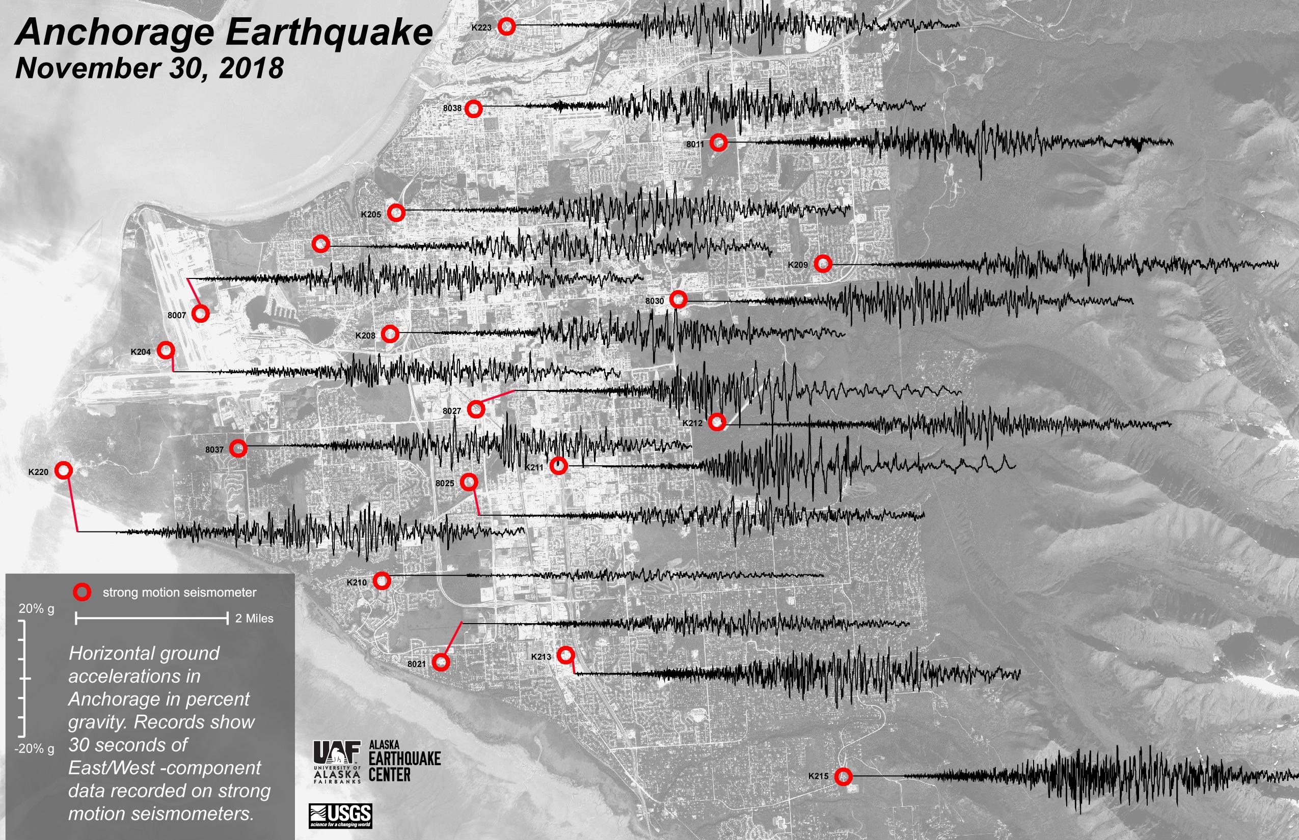 GRAPHIC Earthquake Shake Map from USGS earthquake.alaska.edu ... on