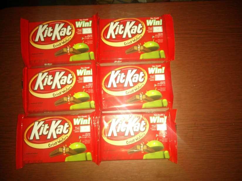 Finally... #kitkat