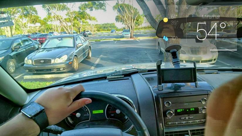 welcome to sunny and cold South Florida #throughglass