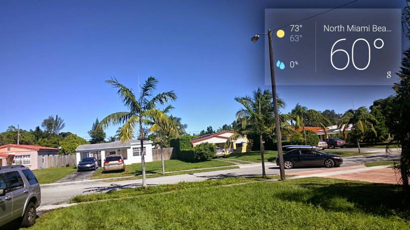 it is cold in Miami #throughglass