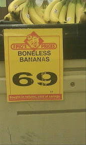 Wtf are boned bananas? Lol