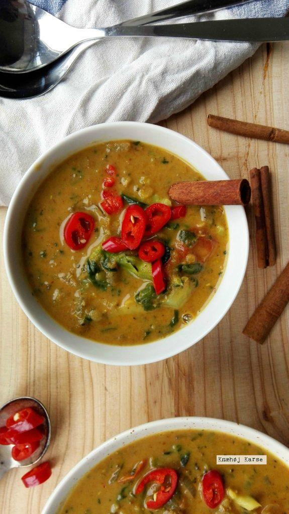 Rød grøntsagscurry
