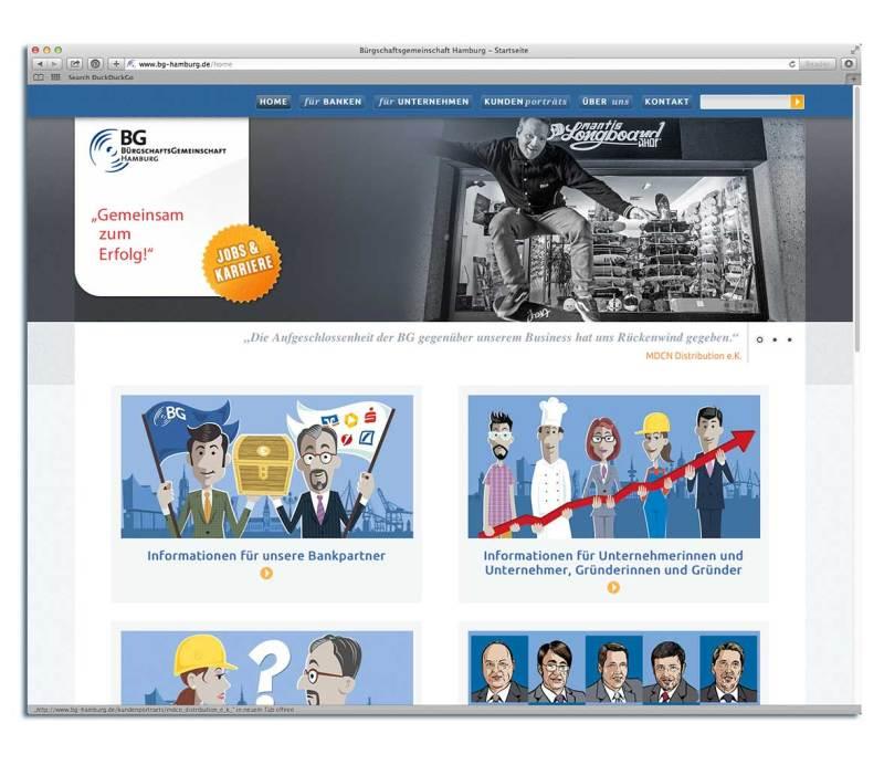 Illustration für Internetseite