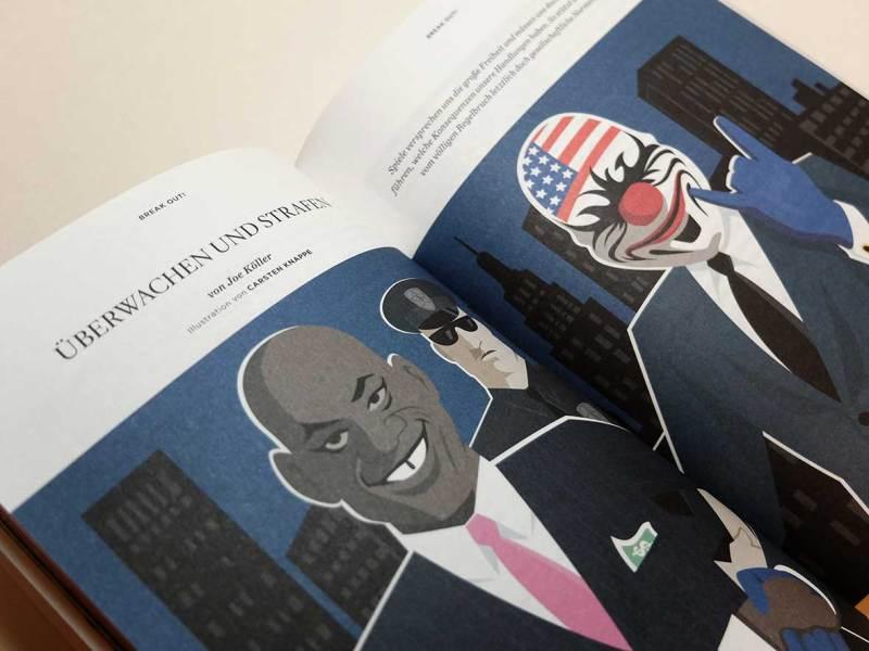 Illustration für Games Magazin