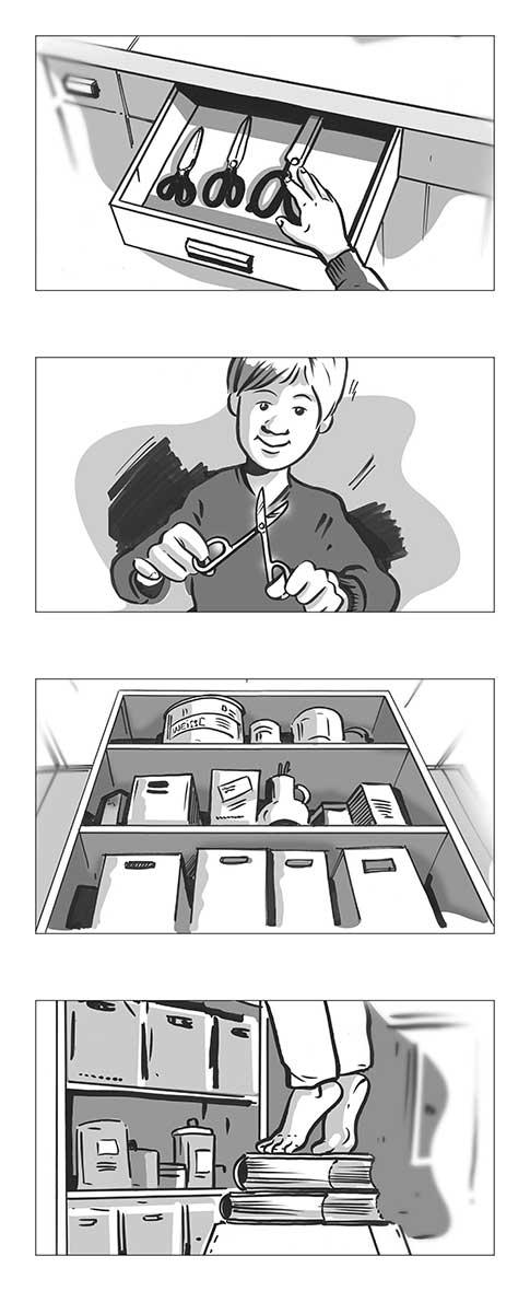 Storyboard Illustration