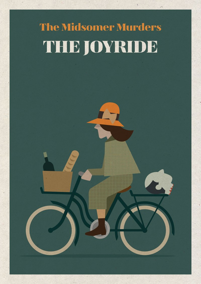 Tweed Ride Illustration