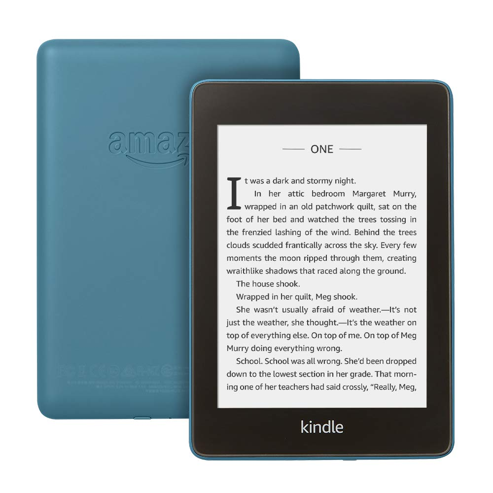 The Kindle Paperwhite now comes in blue
