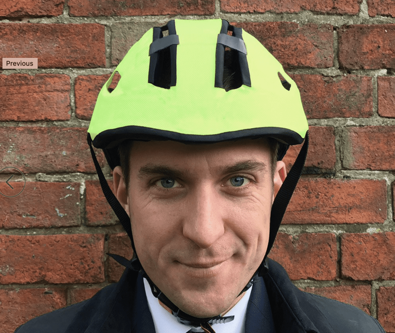 Hedkayse ONE foldable bike helmet can survive multiple lickings