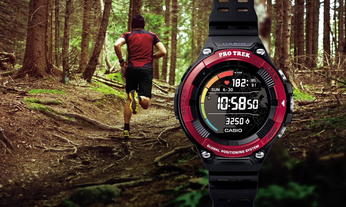 Go for a heart-healthy hike with the Casio ProTrek WSD-F21HR