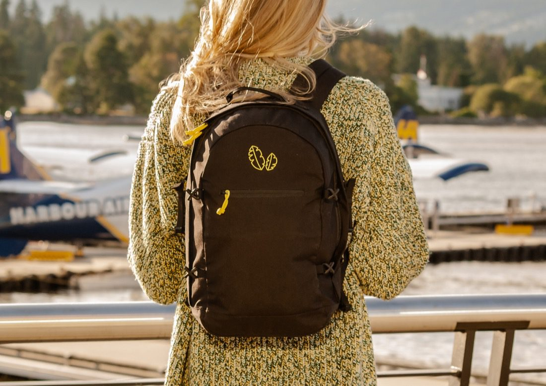 Now funding:  The customizable Kiri Backpack from Banana Backpacks