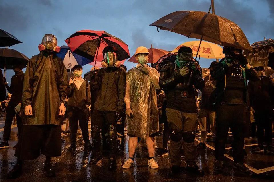 Life imitates art in the Hong Kong protests
