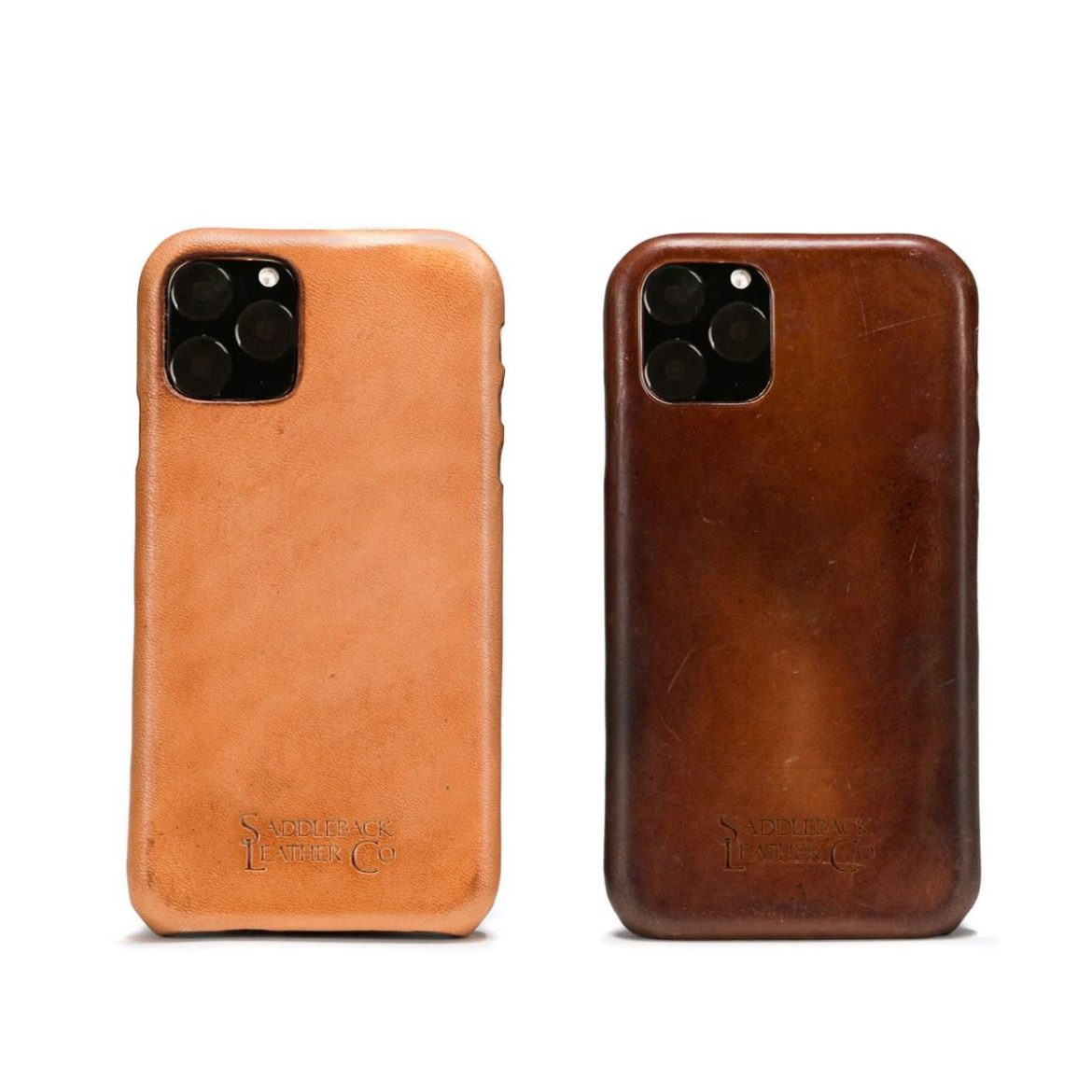 How about some rich leather to wrap around your iPhone?