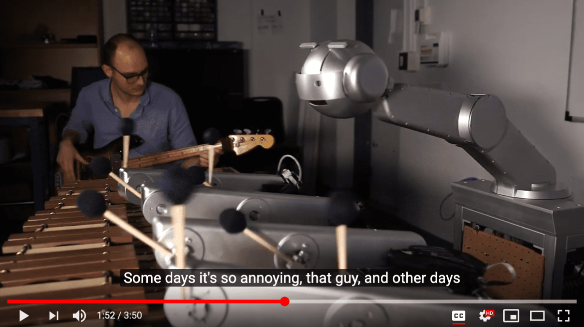 Jamming with the Robot – what happens when machine learning makes you feel things?