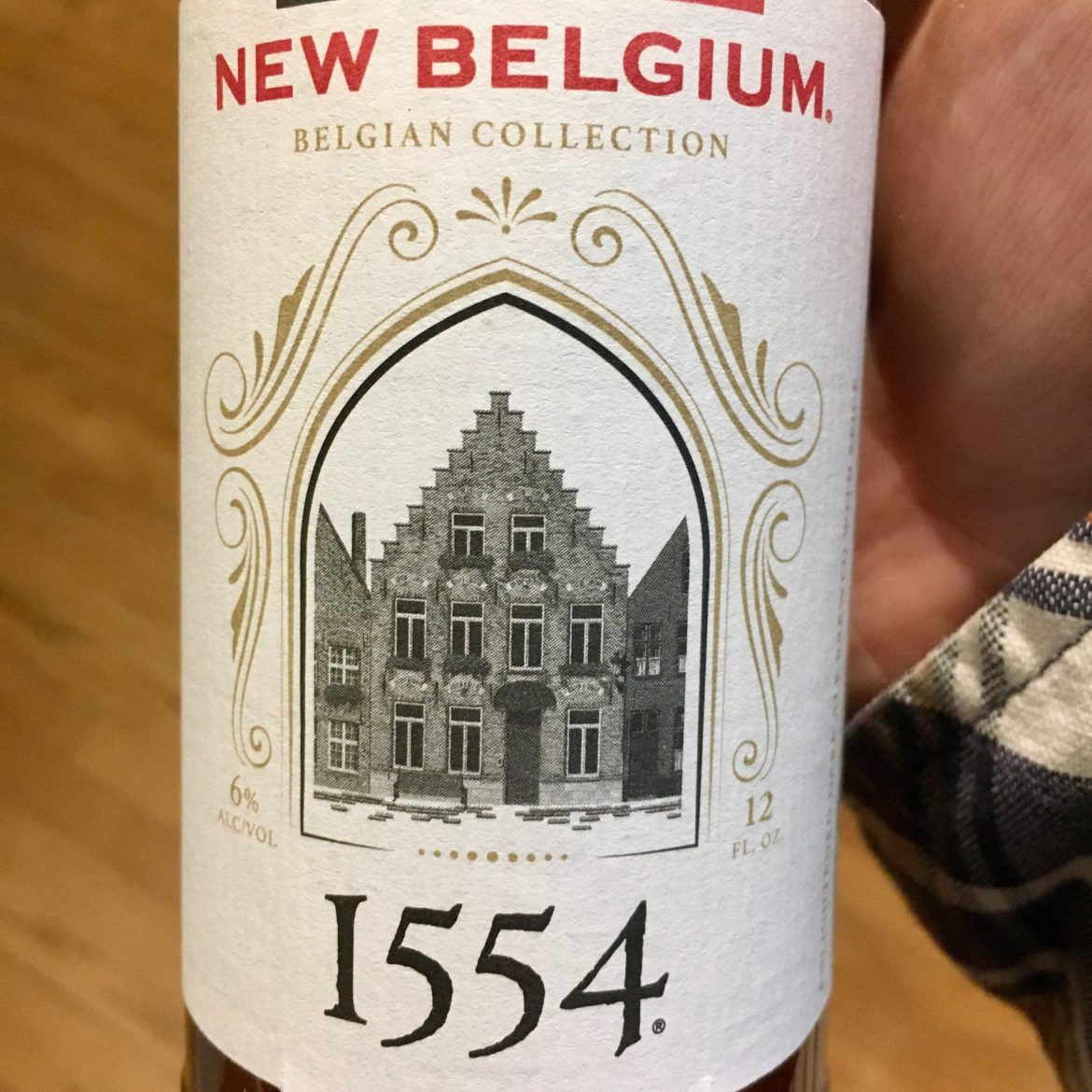 The Afternoon Beer Break: New Belgium 1554