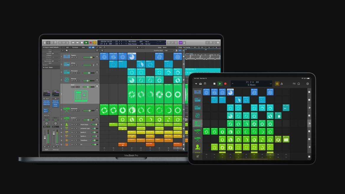 Apple's Logic Pro Audio updates, and it's awesome with iPad
