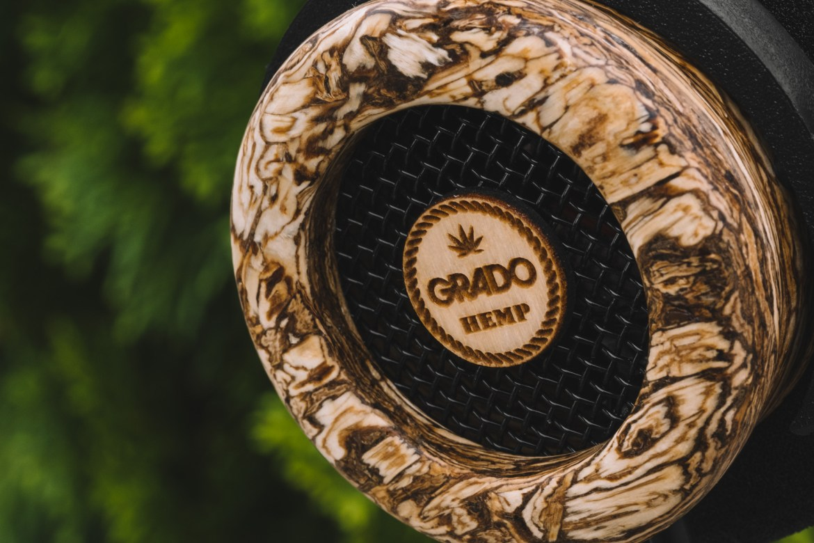For the latest fire track – the Grado Hemp Headphones