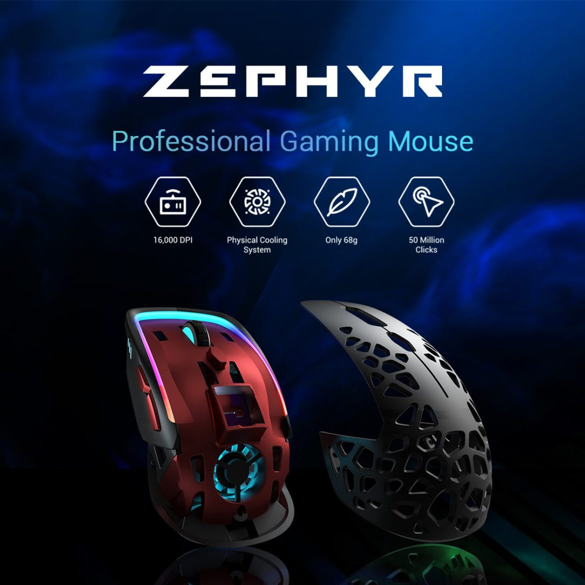 Now Funding: the Zephyr Gaming Mouse