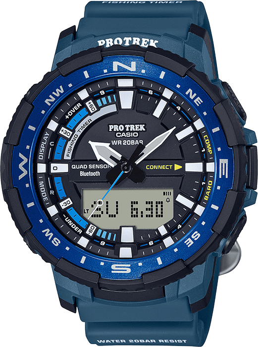 Introducing the Casio Pro Trek Angler Series