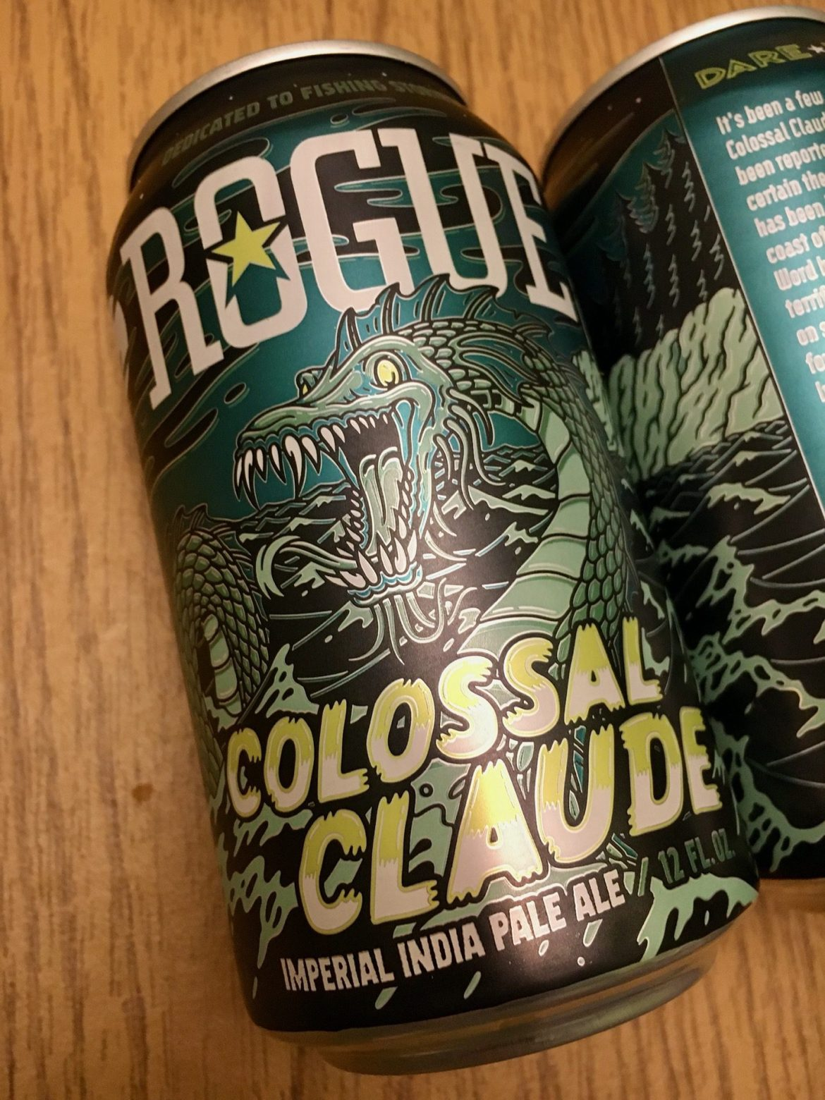 Afternoon Beer Break: Rogue Colossal Claude