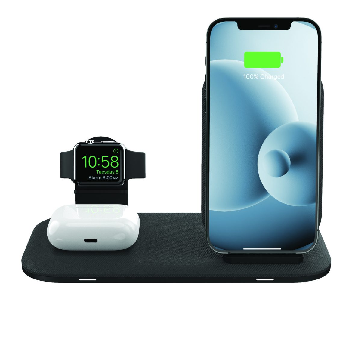 Introducing the mophie wireless charging stand+